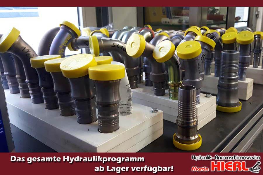 Hierl Hydraulik Baumaschinen Service